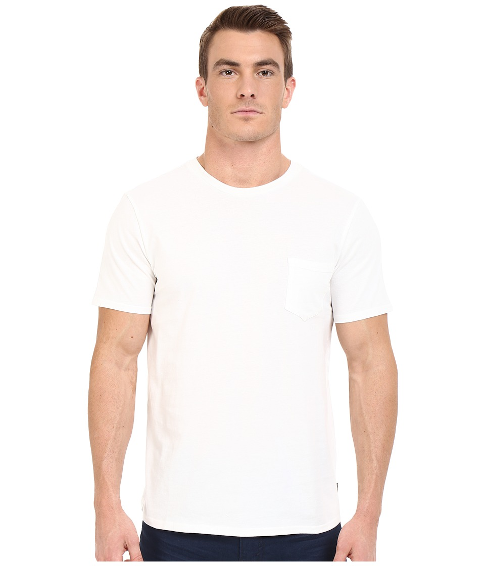 Threads 4 Thought Baseline Pocket Crew Tee White Mens T Shirt