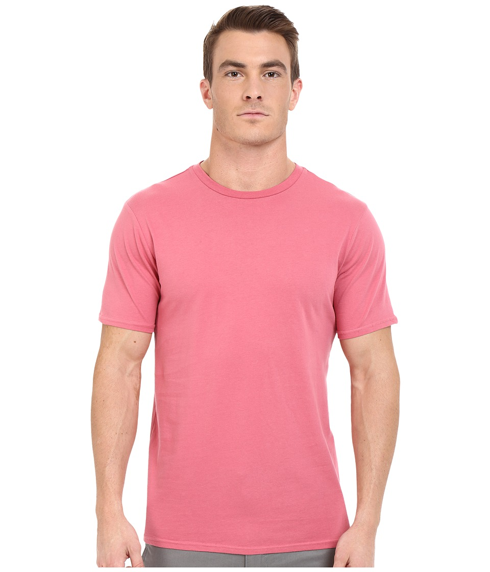 Threads 4 Thought Baseline Cotton Crew Cranberry Mens Clothing