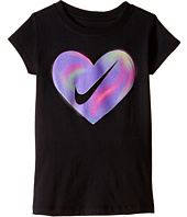 Nike Kids - A889 Heart Short Sleeve Tee (Little Kids)