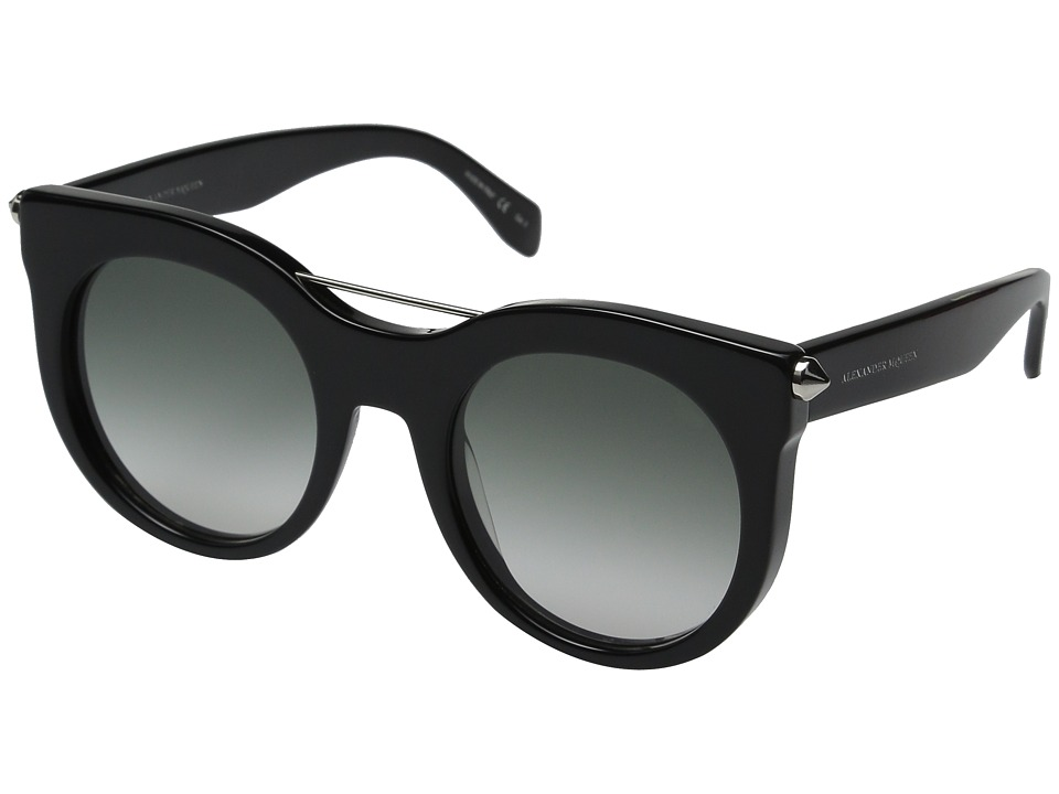 Alexander McQueen AM0001S Black/Grey Gradient Fashion Sunglasses