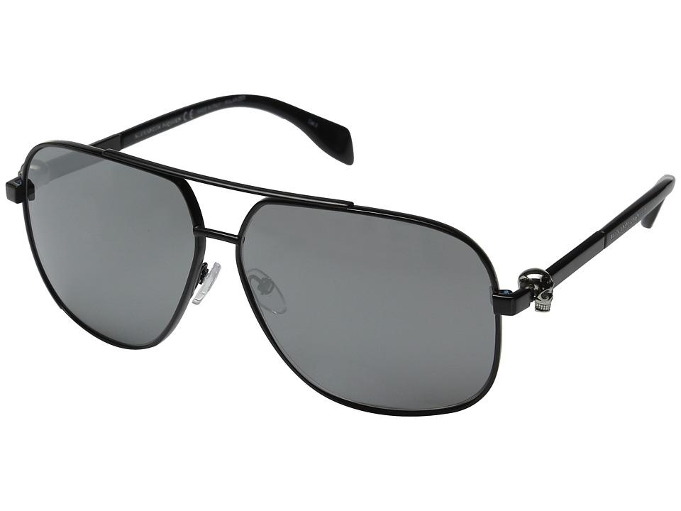 Image of Alexander McQueen - AM0019S (Black/Smoke) Fashion Sunglasses