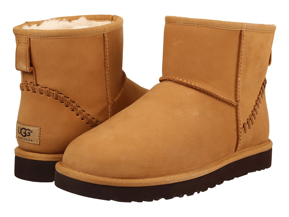 UGG - Classic Mini Deco Wheat (Wheat) Men