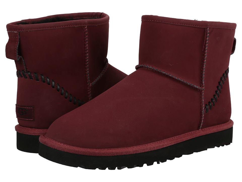 UGG - Classic Mini Deco (Cordovan) Men