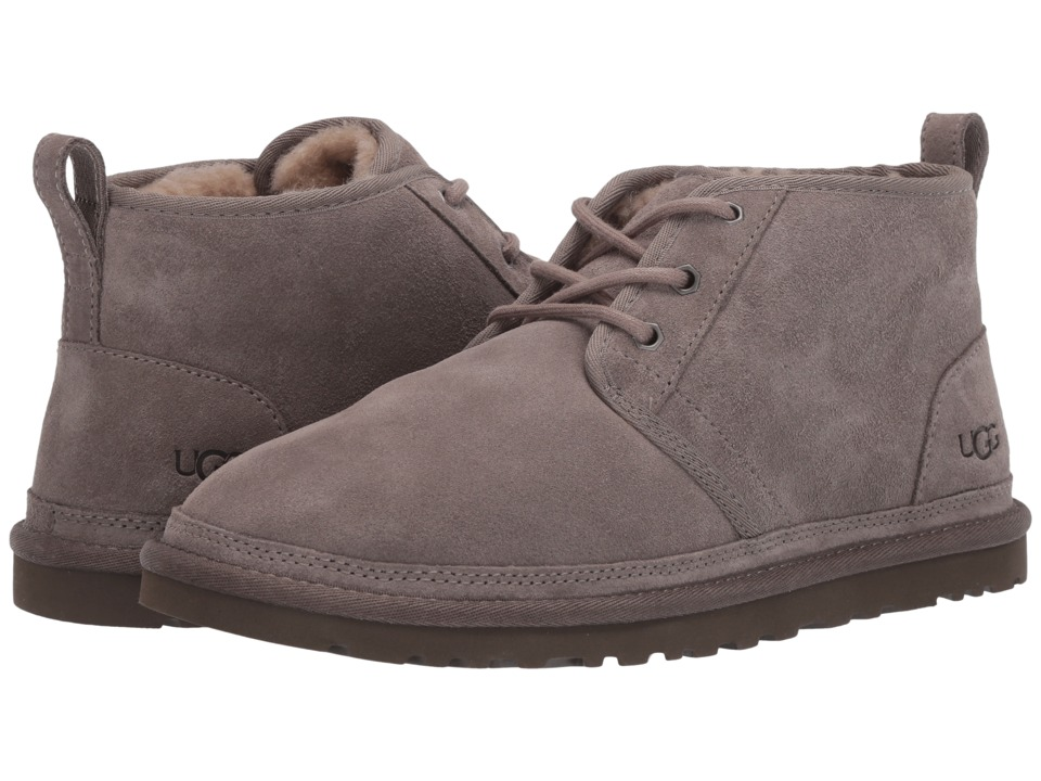 Ugg Neumel (Dark Fawn) Men's Lace up casual Shoes