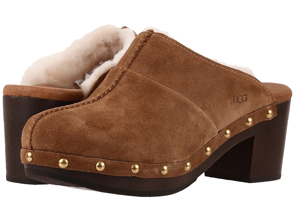 UGG - Kassi (Chestnut) High Heels