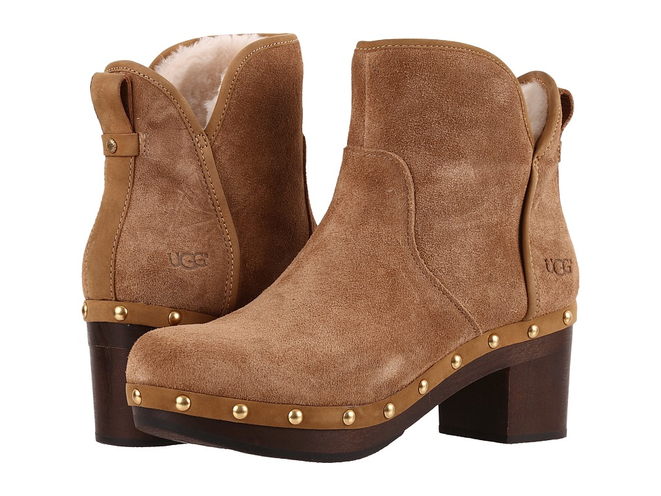 UGG - Cam II (Chestnut) High Heels