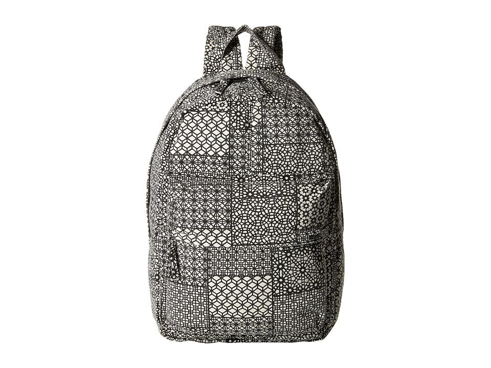 RVCA Scout II Backpack Black/White Backpack Bags