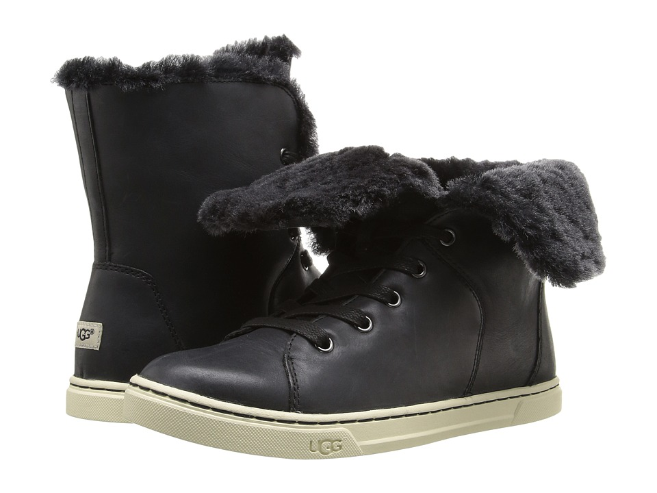 UGG - Croft Luxe Quilt (Black) Women