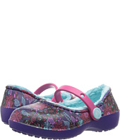 Crocs Kids - Karin Graphic Lined Clog (Toddler/Little Kid)