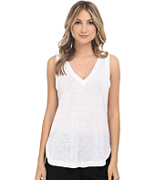 HEATHER - Linen V-Neck Tank Top