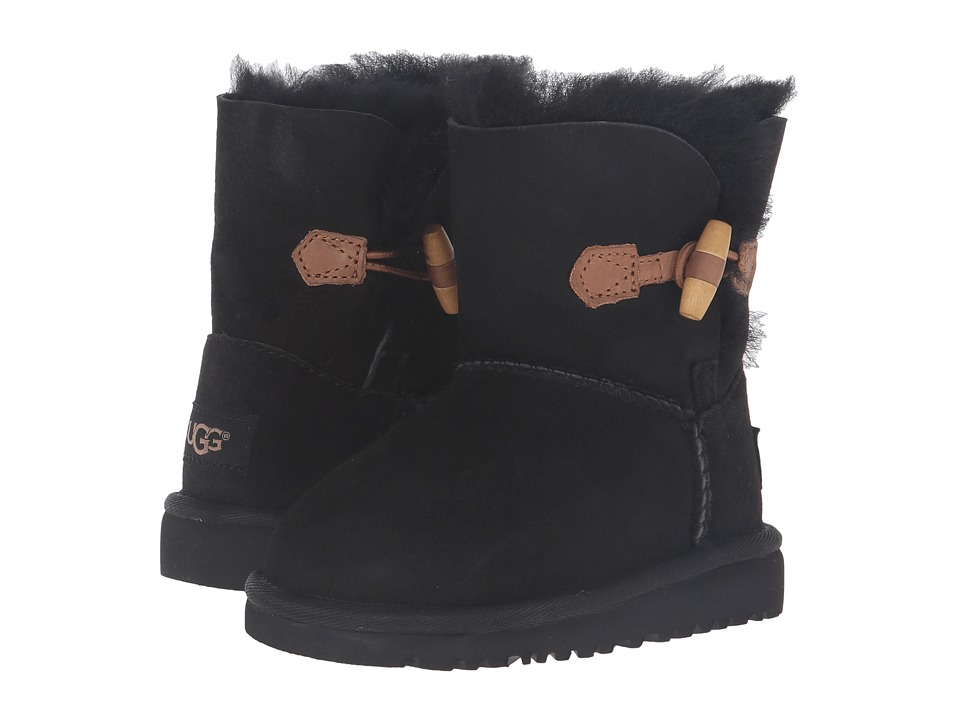 UGG Kids Ebony (Toddler/Little Kid) (Black) Girls Shoes