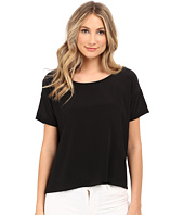 HEATHER - Silk Front Tee