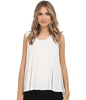 HEATHER - Scoop Neck Boxy Tee