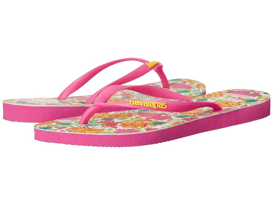 Havaianas Slim Liberty Sandal Orchid Rose Womens Sandals