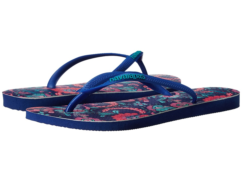 Havaianas Slim Liberty Sandal Marine Blue Womens Sandals