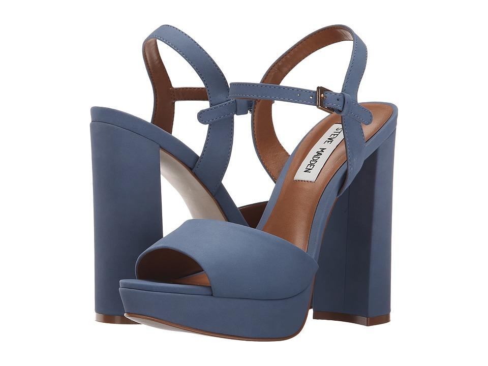 Steve Madden Kierra Light Blue High Heels