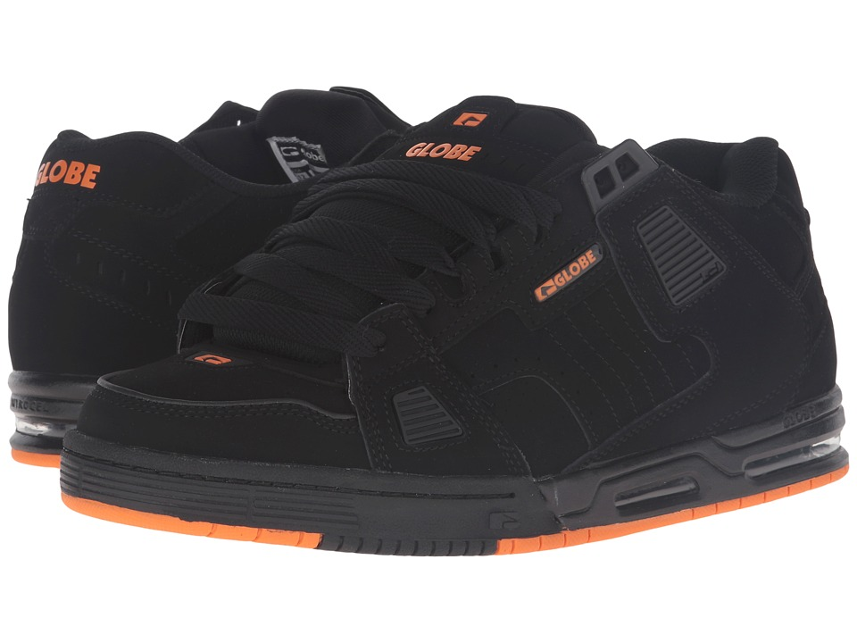 Globe Sabre (Black/Black/Orange) Men