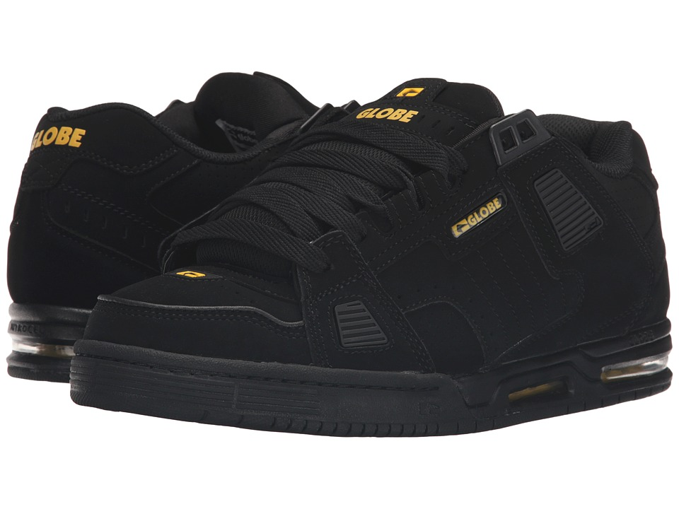 Globe Sabre (Black/Black/Yellow) Men