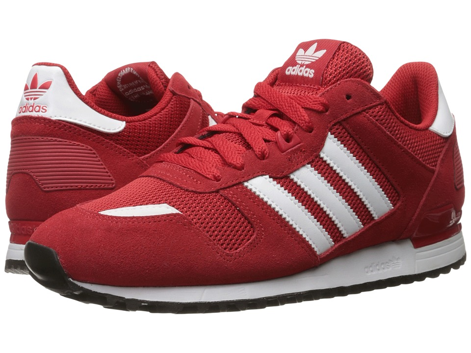 adidas Originals - ZX 700 (Scarlet/Footwear White/Core Black) Men