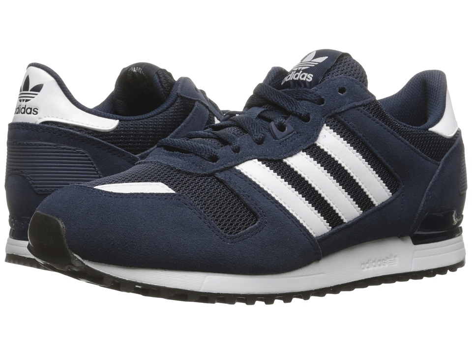 adidas Originals - ZX 700 (Collegiate Navy/Footwear White/Core Black) Men