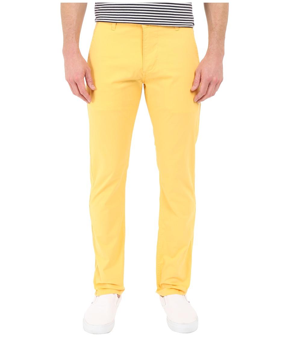 Dockers Mens Alpha Original Khaki Colonial Yellow Mens Casual Pants