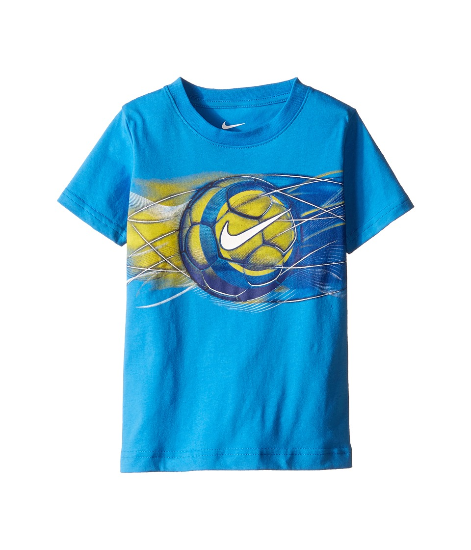 Nike Kids Streak Sport Ball Short Sleeve Tee Toddler Light Photo Blue Boys T Shirt