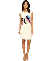 Ellen Tracy - Cap Sleeve Fitted Sheath Dress