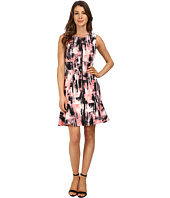 Ellen Tracy - Flounce Hem Sheath Dress