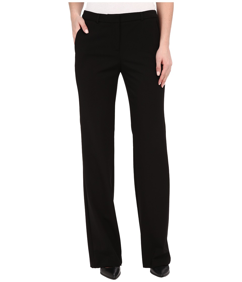 Ellen Tracy Flare Leg Trousers (E Black) Women