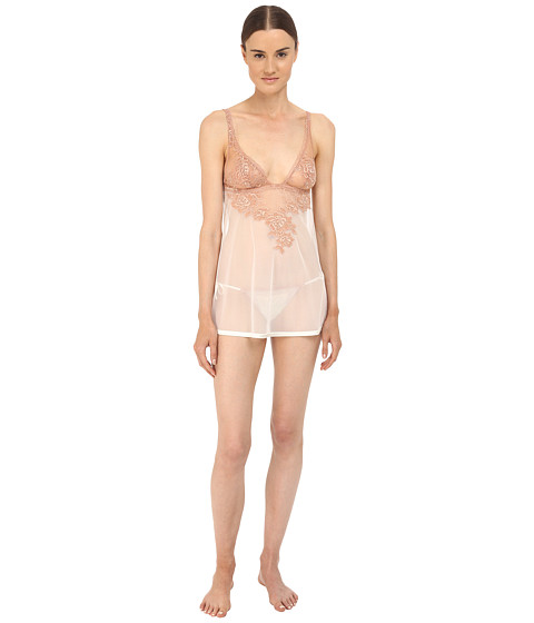La Perla Privilege Babydoll with Panty - Ivory/Nude
