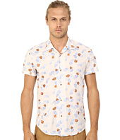 Scotch & Soda - All Over Printed Short Sleeve Shirt in Hawaii Styling