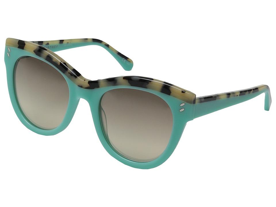 Stella McCartney SC0021S Light Blue/Grey Gradient Fashion Sunglasses