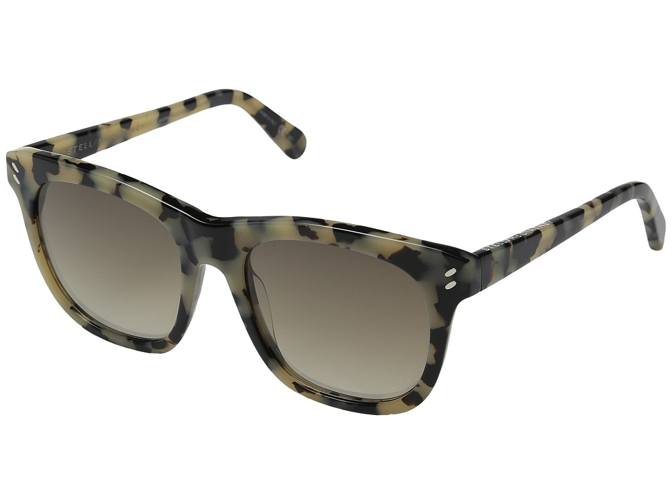 Stella McCartney SC0001S Vintage Havana/Grey Gradient Fashion Sunglasses