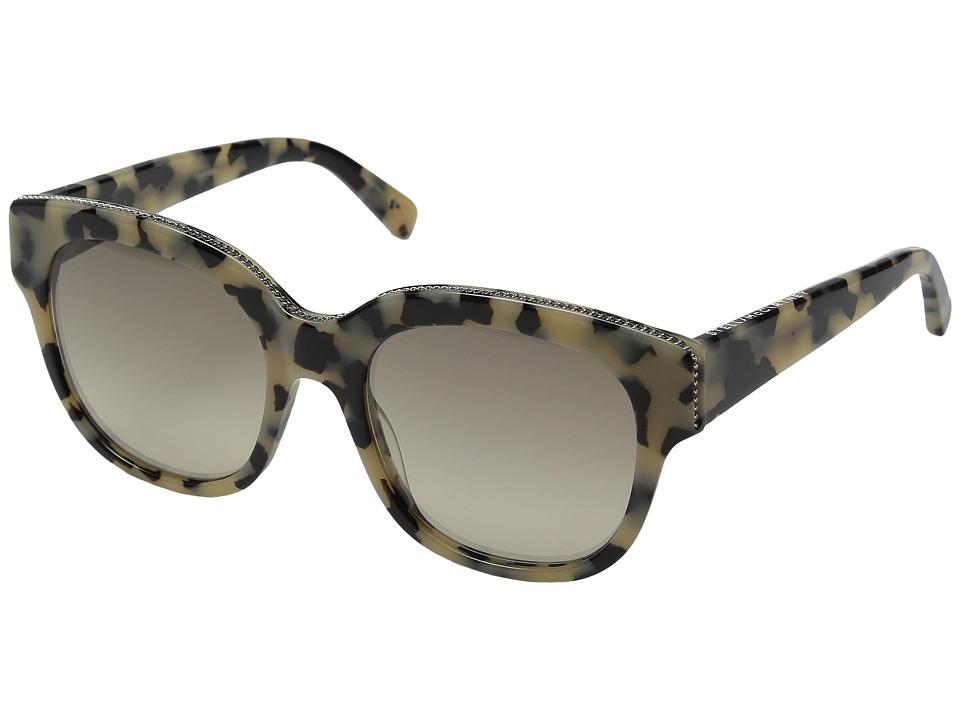 Stella McCartney SC0007S Vintage Havana/Grey Fashion Sunglasses