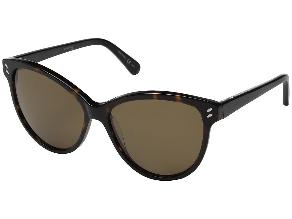 Stella McCartney SC0002S Havana/Brown Gradient Fashion Sunglasses