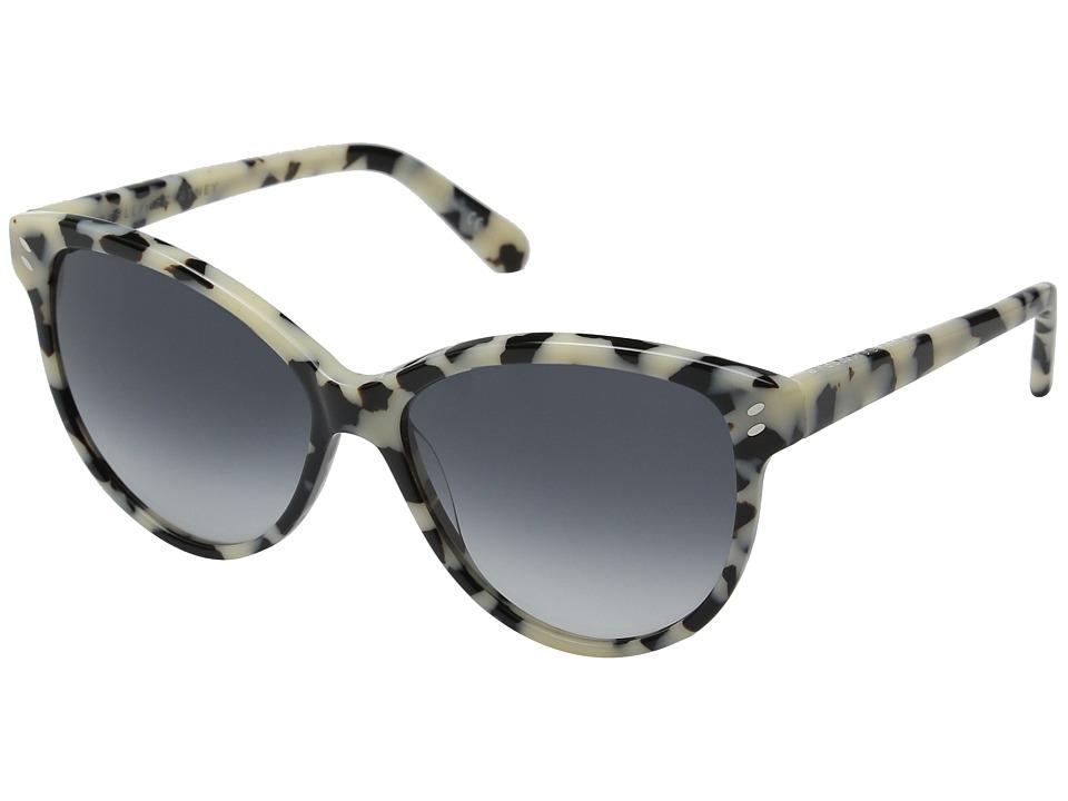 Stella McCartney SC0002S White Havana/Grey Gradient Fashion Sunglasses