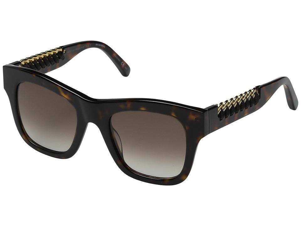 Stella McCartney SC0011S Havana/Brown Gradient Fashion Sunglasses