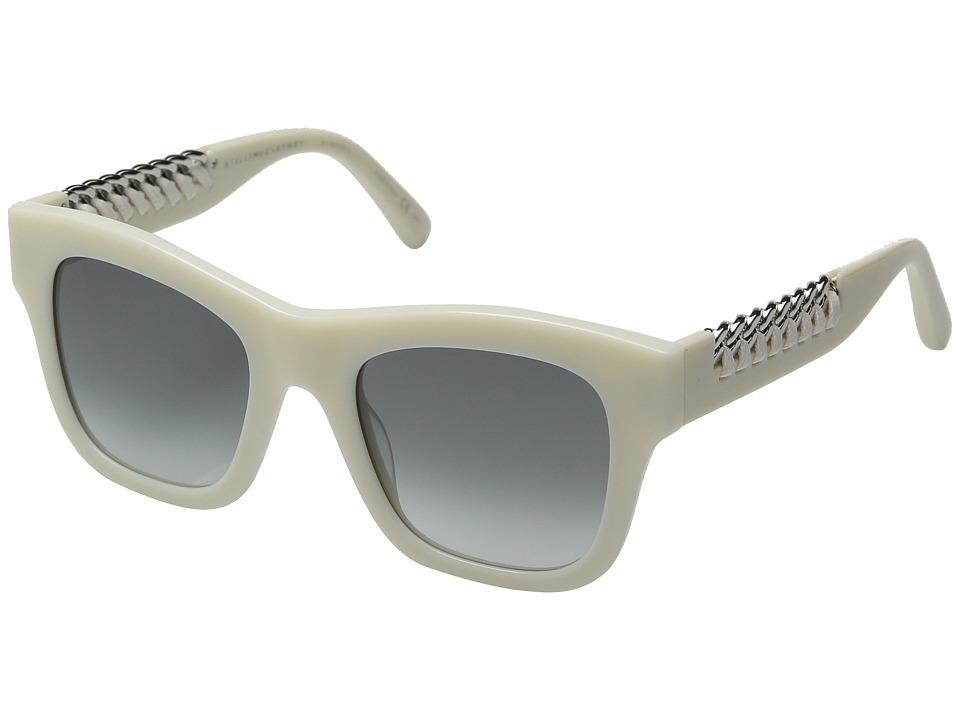 Stella McCartney SC0011S White/Grey Gradient Fashion Sunglasses