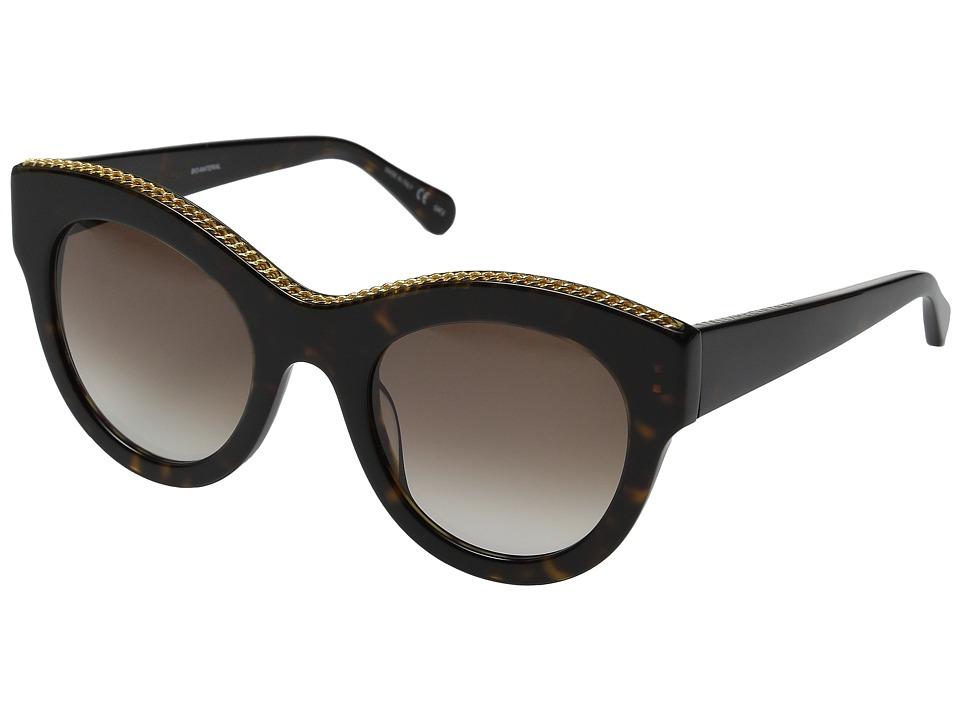Stella McCartney SC0018S Havana/Brown Gradient Fashion Sunglasses