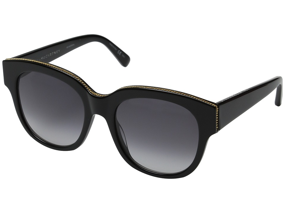Stella McCartney SC0007S Black/Grey Fashion Sunglasses