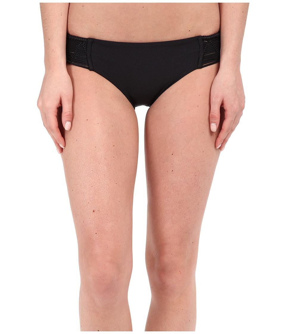 Luli Fama Heart Of A Hippie Full Bottom Black Womens Swimwear