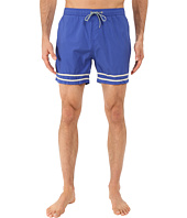 Scotch & Soda - Medium Length Swim Shorts in Solid and Color Block Feeling