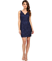 Aidan Mattox - V-Neck All Over Lace Cocktail Dress