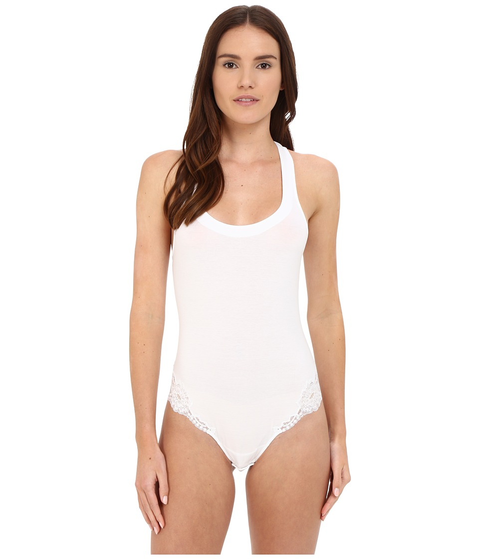 La Perla - Souple Bodysuit (White) Womens Jumpsuit & Rompers One Piece