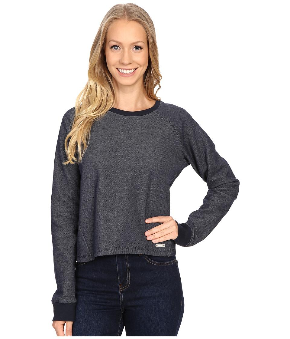 Bench Contemplation Overhead Pullover Sweatshirt Total Eclipse Womens Sweatshirt