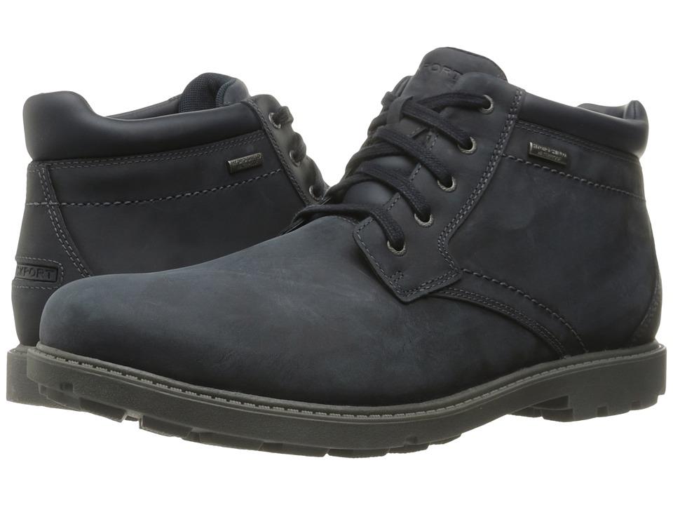 Rockport - Rugged Bucks Waterproof Boot (New Dress Blues) Men