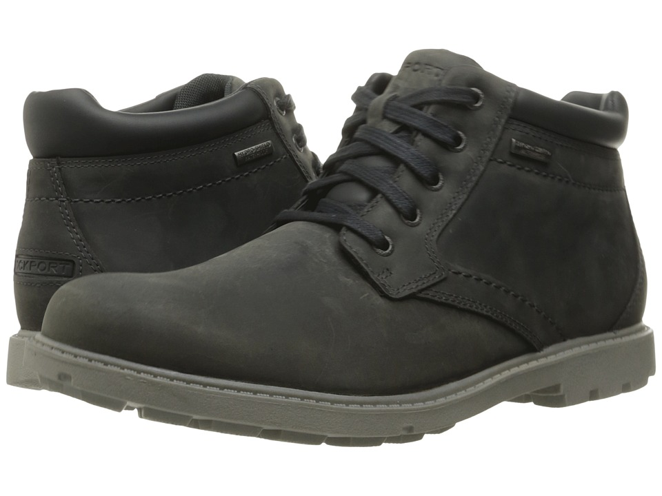 Rockport Rugged Bucks Waterproof Boot (Castlerock Grey) Men