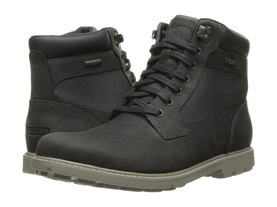 Rockport Rugged Bucks Waterproof High Boot (Castlerock Grey) Men