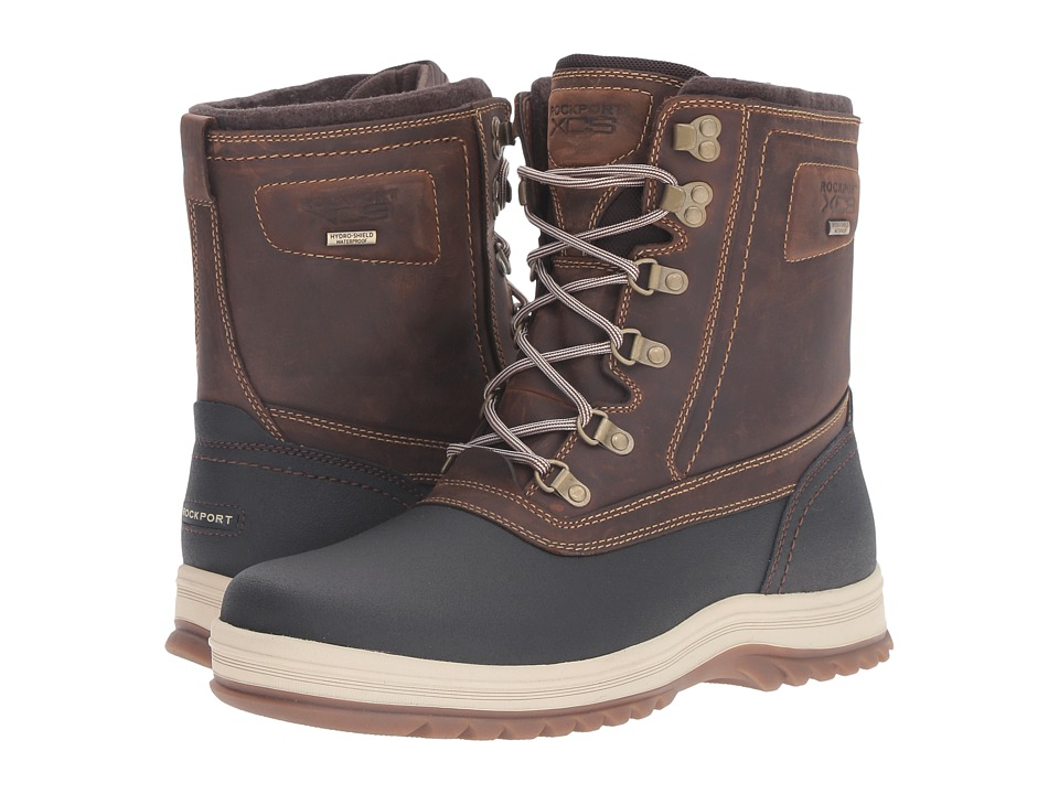 Rockport World Explorer High Boot (Tan) Men