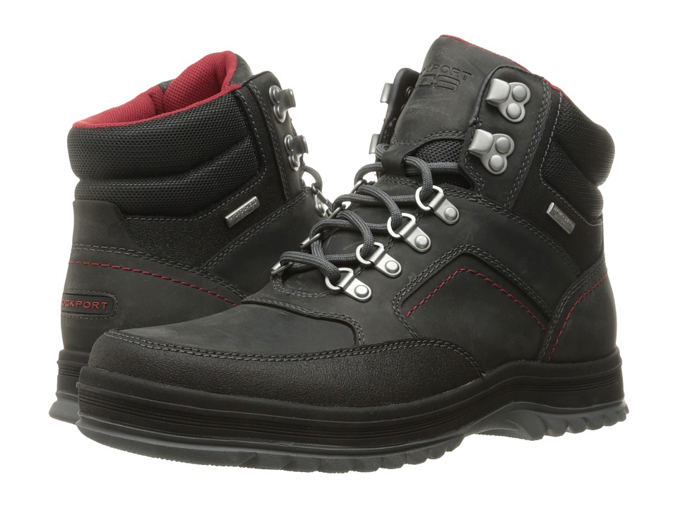 Rockport World Explorer Mid Waterproof Boot (Castlerock Grey) Men